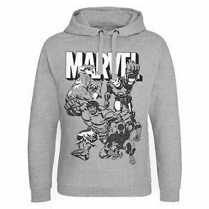 Officially Licensed Marvel Characters Epic Hoodie S-XXL Sizes