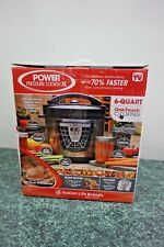 POWER PRESSURE COOKER XL 6 QT FUSION LIFE BRANDS 7 APPLIANCES IN ONE