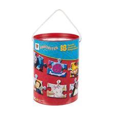 Favorites 18 In 1 Puzzle Bucket Thomas Barney Fireman Sam Pingu Bob & MORE!