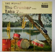 "THE NOVAS 7"" SINGLE - THE CRUSHER / TAKE 7 / SURF BEAT GERMAN LONDON"