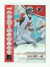 Julio Jones 2018 Donruss Football TEAM HEROS #TH-6 Atlanta Falcons