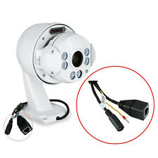 Mini PTZ Dome Camera  2.0 Megapixel, 1920 x 1080P (30 fps) Full HD@NTSC