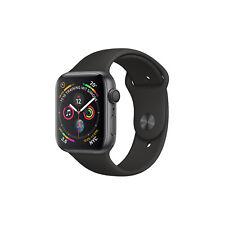 Apple Watch Series 4 GPS space grau schwarz Aluminium watchOS Sportarmband OLED