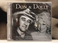 DON WILLIAMS / DOLLY PARTON - DON & DOLLY CD NUOVO SIGILLATO NEW SEALED