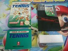 Juego Completo para Nintendo Nes Four Players Tennis Pal B España Original CIB