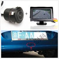 """Car SUV Rear View 18.5mm 170° CCD Digital Camera+4.3"""" TFT LCD HD Display Monitor"""