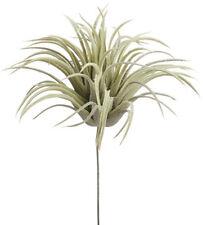 "Tillandsia Air Pick Plant 7.75"" ~ Leaf Pick Filler Greenery Silk Wedding Flowers"