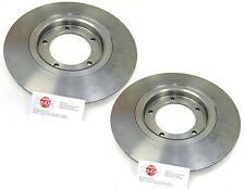 fits: DAIHATSU SPORTRAK 1989-1998 *2 x NEW HIGH QUALITY FRONT SOLID BRAKE DISCS*