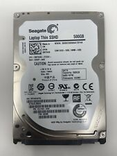 "500GB SSHD Seagate 5400 RPM 2.5"" SATA Laptop Thin Internal Hard Drive ST500LM000"