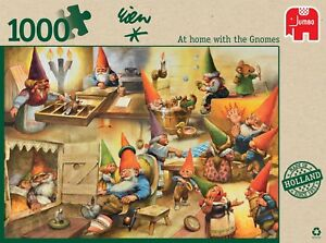 David the Gnome Rien Poortvliet Jigsaw Puzzle 1000pc NEW At Home with the Gnomes