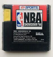 NBA Showdown 94 (1994 SEGA Genesis Basketball Video Game)