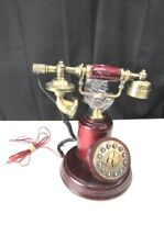 Accent Communication Wood Metal Telephone