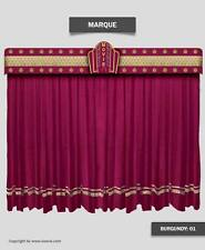 Saaria Marquee Decorative Stage Curtain Movie Theater Valance Curtain 20'Wx9'H
