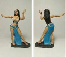 PAINTED! Girl dancer / Tin figure 54 mm