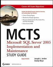MCTS: Microsoft SQL Server 2005 Implementation and Maintenance Study Guide: Exam