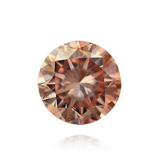 ARGYLE, AGT and GIA Certs 0.20ct ROUND cut diamond PC1 Fancy Pink SI-1