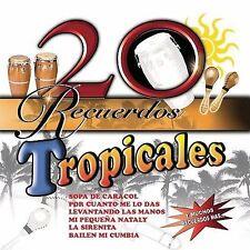 20 Recuerdos Tropicales (CD) El Simbolo, Celso Pina, Quimika, Llayras, Aliados