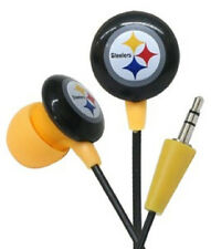 Pittsburgh Steelers Hi-Fi Ear Buds [NEW] NFL Head Phones Headphones CDG