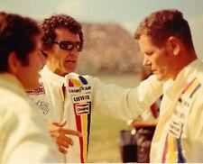 JODY SCHECKTER RICHARD PETTY BOBBY UNSER IROC F1 INDY 500 NASCAR 8 X 10 PHOTO