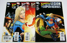 Supergirl & Legion of Super-Heroes #23,24,25,30 All Signed:Barry Kitson COA LoSH