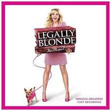Legally Blonde: The Musical [Original Broadway Cast Recording] by Laura Bell Bundy, Original Cast (CD, 2007, Ghostlight)