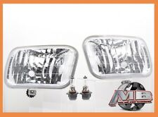 2009 2010 2011 2012 Dodge Ram 1500 Clear Fog Lights Bumper Lamp+Bulbs