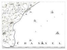 Kent 1700-1799 Date Range Antique Europe Sheet Maps
