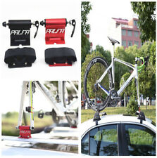 New Quick-release Alloy Fork Lock Bike Car Luggage Rack Carrier Alloy Roof Mount