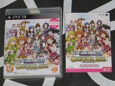 PS3 Import Asian New The Idolmaster One for All Idolm@ster Idol Master w/ Bonus