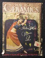 1950 HOW TO DO CERAMICS #2 by Hellen H Lion GD+ 2.5 Walt Foster