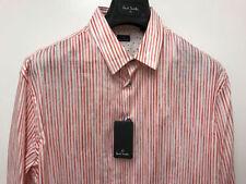 Camicie classiche da uomo rossi slim
