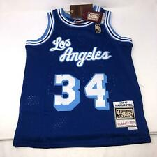 Shaquille O'Neal Shaq Mitchell n Ness Lakers Throwback Jersey Youth Size Small