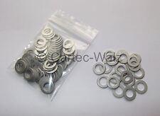 100 STÜCK Aluminiumringe Alu Dichtringe Dichtungen AL 10x16x1,0mm DIN7603 Form A