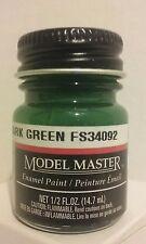 Testors Model Master Enamel paint 1764, Euro Dark Green. 1/2fl.oz.(14.7ml.)