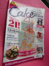 Cake Craft & Decoration Sugarcraft Recipe Magazine April 2015 issue 197
