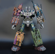 Jinbao OVERSIZED Warbotron Bruticus 55CM Decepticons Transformable toy No BOX