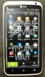 HTC One X  AT&T Smartphone Unlocked White