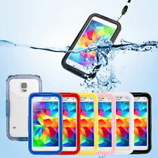 Waterproof Rigid Plastic Mobile Phone Cases, Covers & Skins for Samsung Galaxy S5