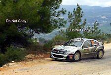 Petter Solberg Citroen Xsara WRC Cyprus Rally 2009 Photograph 3