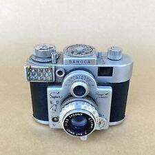 Samoca Super Rangefinder 35mm Film Camera W/ 50mm 1:3.5 Lens, VINTAGE