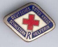 seltenes orig. Abzeichen Deutsches Rotes Kreuz Schwestern Helferin