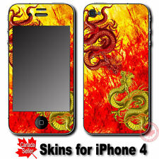 Dragon Cool SKIN STICKER DECAL COVER for Apple iPhone 4