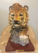 Used Tiger Sculpture Medium Sized