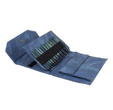 "Lykke Indigo Interchangeable circular Knitting Needle set of 12 + Accessories 5"""