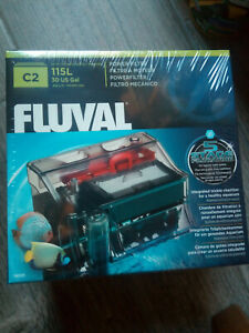 Fluval C2 (115 Litres) Filter Backpack Mechanical Fish,Aquariums And Bowls