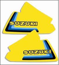 1979 Suzuki RM 125 250 400 Tank Decals