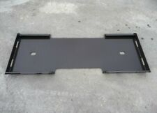 12 Skid Steer Mount Plate Adapter Loader Quick Tach Attachment Made In Usa