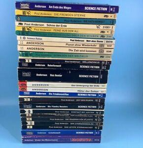 25x Poul Anderson Science Fiction Taschenbuch Sammlung