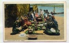 A Native Feast On Luau HAWAII *OLD EARLY*