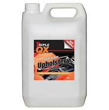 Triple QX Upholstery Cleaner Seats Carpet Seat Fabric Roof Lining Car 5 Litres
